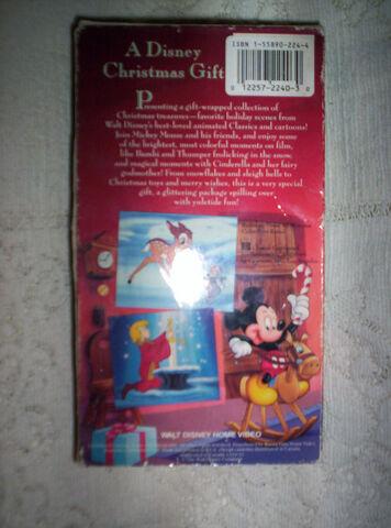 File:A Disney Christmas Gift VHS Back.JPG