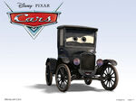 Cars Characters 06 Lizzie