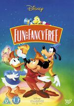 Fun and Fancy Free UK DVD 2014