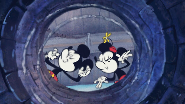 File:Mickey and Minnie at the Wishing Well.jpg