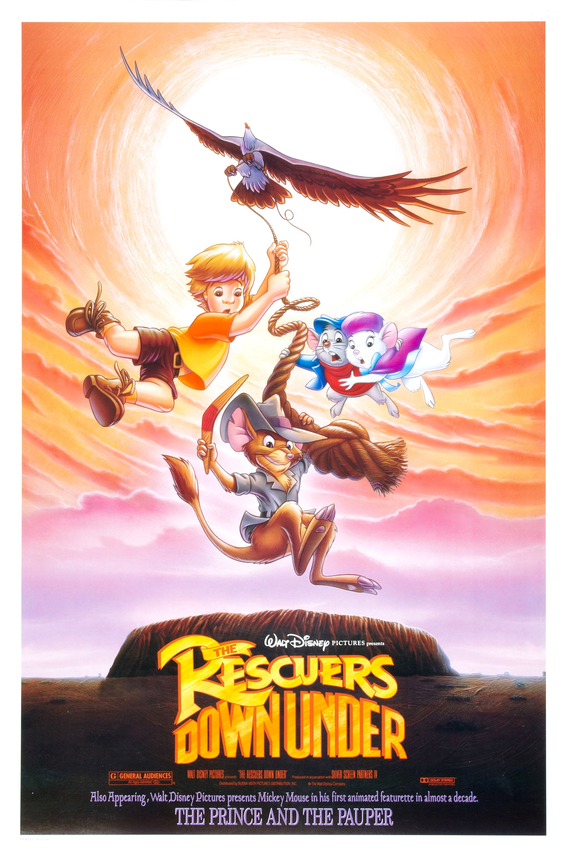 Fandom Powered By Wikia: The Rescuers Down Under