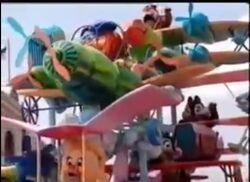 Disney Afternoon Characters in Disneyland Paris Parade