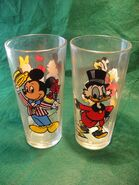 Disney Pepsi Drinking Glass