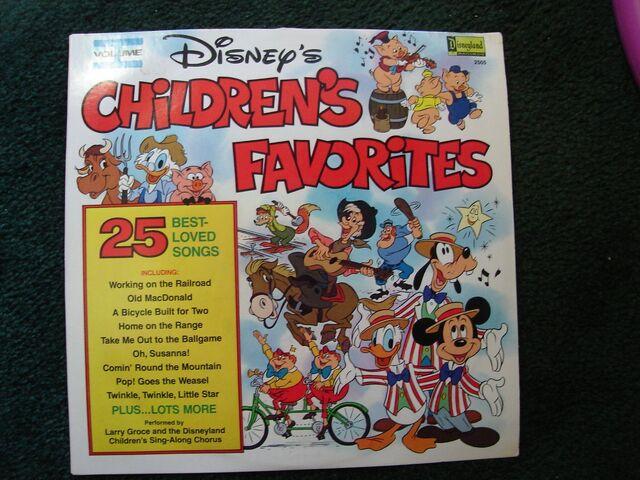File:Disneys childrens favorites volume 1 lp.jpg