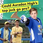 Could Auradon High's top jock go pro