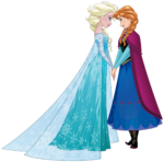 Elsa and Anna Sisters