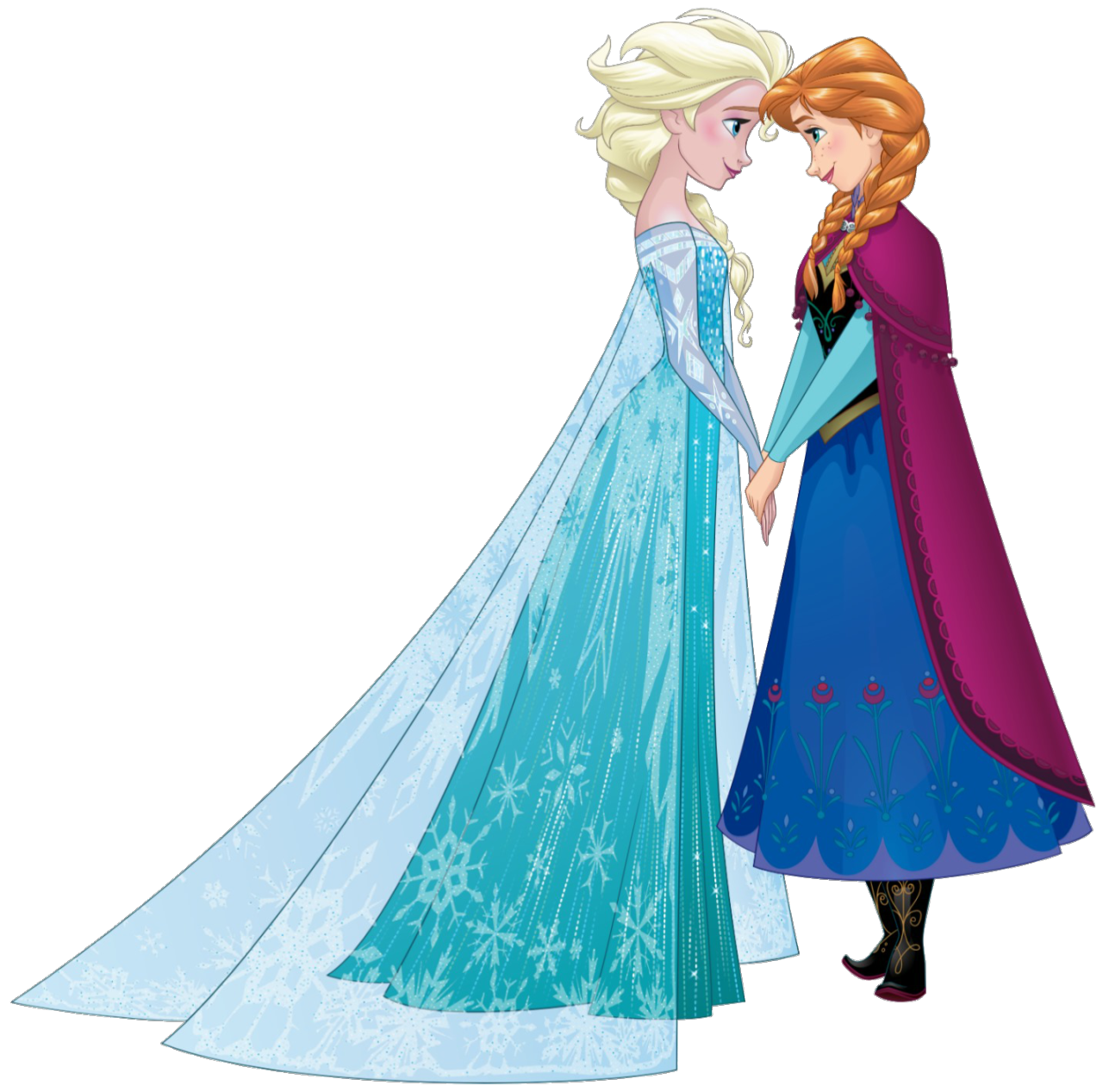 Image Elsa And Anna Sisters Png Disney Wiki Fandom