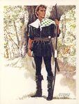 Robin Hood Tom Thumb Myths Legends Player 1981CigCard Item number