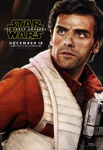 File:The Force Awakens Poe Dameron Poster.jpeg