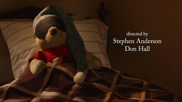 File:Winnie the Pooh is a stuffed toy bear sleeping in bed.jpg