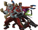 GOTG Animated Team Render 01