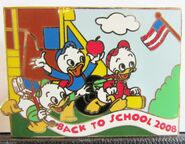 Back to school 2008 pin