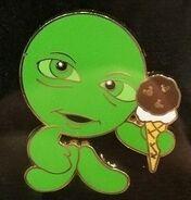 Sour bill ice cream pin