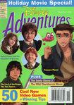 Disney Adventures Magazine cover November 2002 Holiday movies