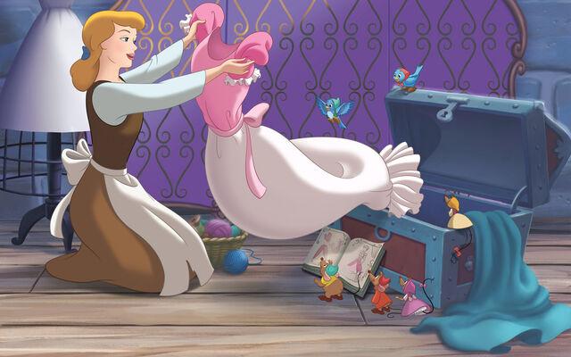 File:Disney Princess Cinderella's Story Illustraition 5.jpg