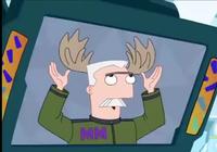 Francis, antlers