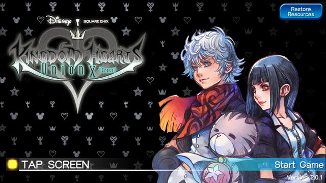File:Kingdom Hearts Union X Title Screen.png