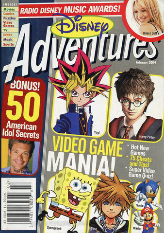 File:Disney Adventures Magazine cover February 2004 Video Games.jpg
