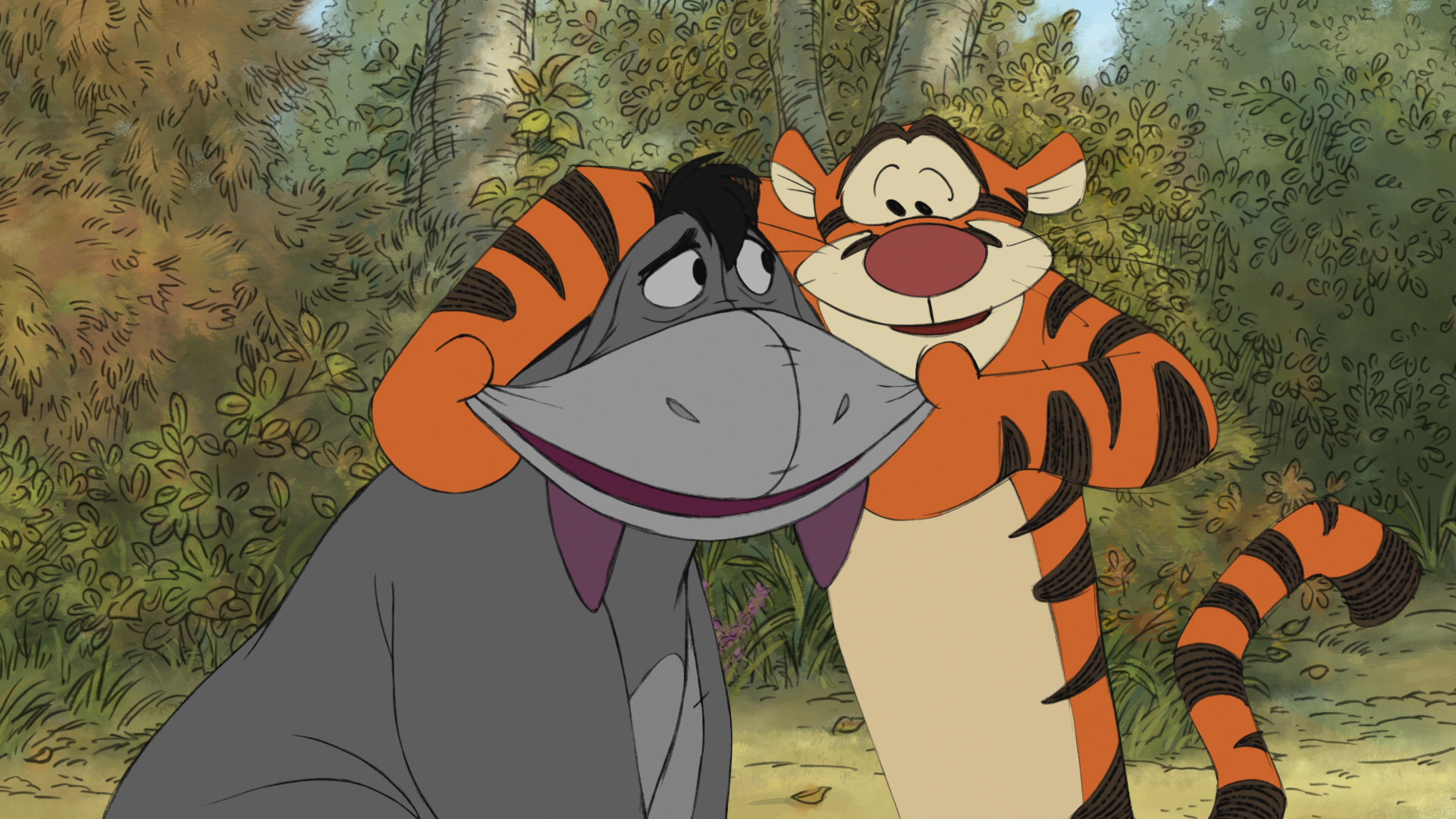 Image result for eeyore and tigger