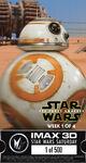 BB-8 IMAX Ticket