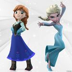 Anna and Elsa Disney Infinity Poster