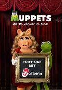 DieMuppets-GermanContest-MeetKermit&PiggyWithAirBerlin-(2012)