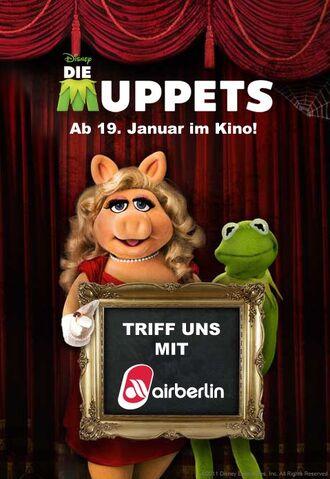 File:DieMuppets-GermanContest-MeetKermit&PiggyWithAirBerlin-(2012).jpg