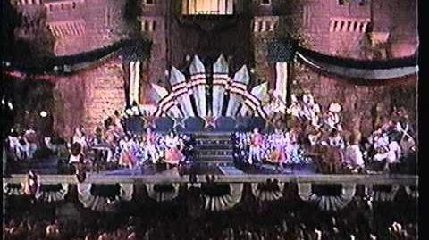 Disney World Shows 4th July Spectacular 1990 Part 1 with Regis and Kathy Lee