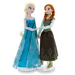 Frozen Anna and Elsa Disney Store Ice Skating Dolls