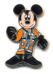 DLP - Star Wars Booster Pack 2012 - Mickey as X-Wing Pilot ONLY