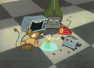 Hand painted brave little toaster production cel by animationvalley-d54ekev