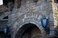Snow White's Scary Adventures Entrance