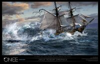 The Jolly Roger Emerges OuaT Concept Art