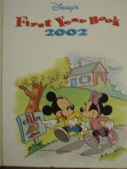 Disneys first year book 2002