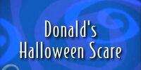 Donald's Halloween Scare