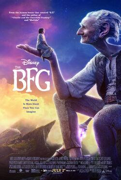 The BFG - Poster