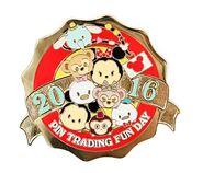 HKDL Tsum Tsum Trading Day Pin 1