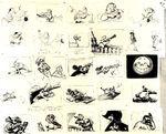 Peter Pan storyboard