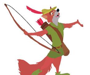 Robin Hood Toystoryfan Artwork