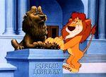 Social lion 10large