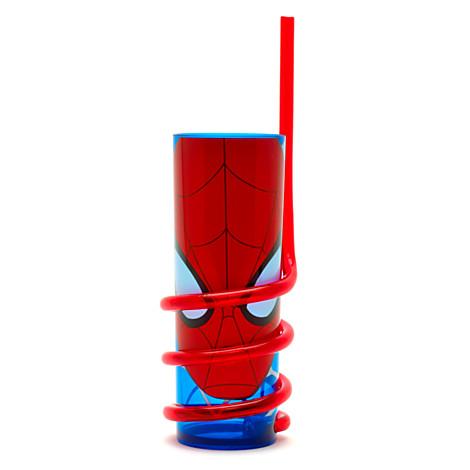 File:Spider-Man Curly Straw Tumbler.jpg