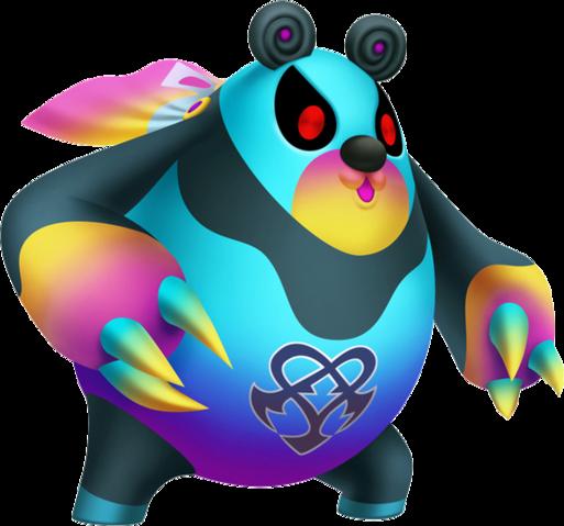 File:Kooma Panda (Nightmare) KH3D.png