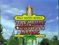 WDW ChristmasParade 1987