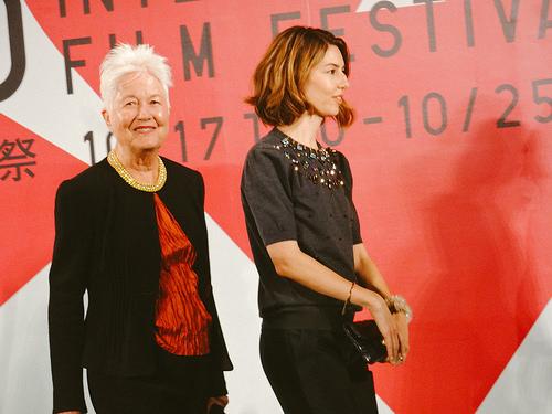 File:26th Tokyo International Film Festival- Sofia Coppola & Eleanor Coppola from The Bring Ring.jpg