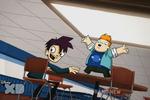Randy and Howard in Der Monster Klub 2