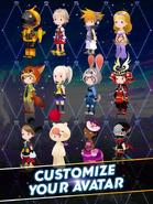 Kingdom Hearts Unchained X - Scrrenshot 1