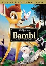 5. Bambi (1942) (Platinum Edition 2-Disc DVD)