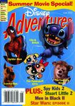 Disney adventures june 2002 cover summer movies lilo stitch