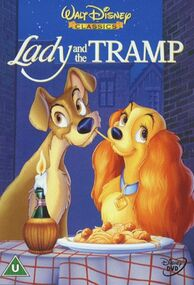 Lady and the Tramp 2000 UK DVD