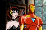 Wasp and iron man